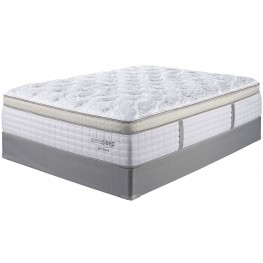 Mt Dana ET Blue & White Twin Mattress