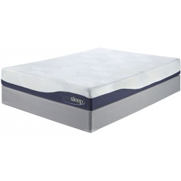 9 Inch Gel Memory Foam White Cal. King Mattress