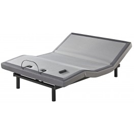 White Cal King Adjustable Bed