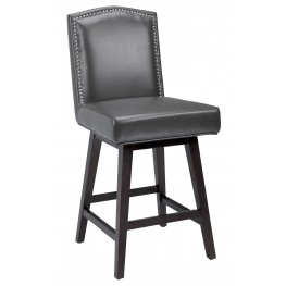 Maison Grey Swivel Counter Stool