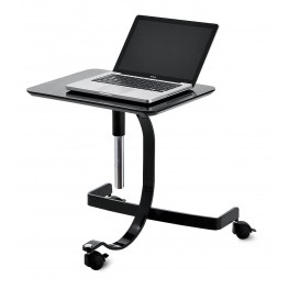 Media Black Mobile Notebook Desk