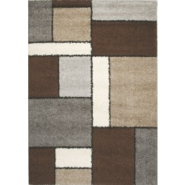 "Milano Blocks II Frieze 94"" Rug"