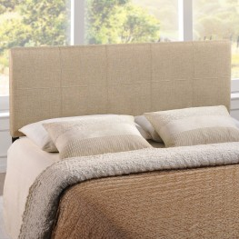 Oliver Beige Queen Headboard