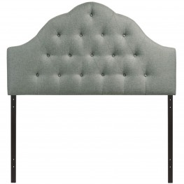 Sovereign Gray King Fabric Headboard
