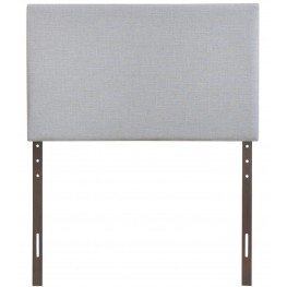 Region Gray Twin Upholstered Headboard