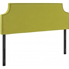 Laura Wheatgrass Queen Upholstered Headboard