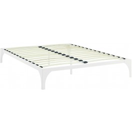 Ollie White Full Bed Frame