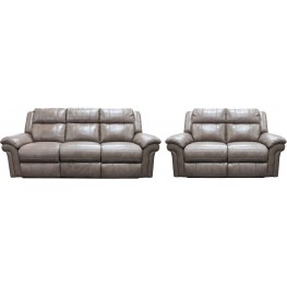Orwell Fawn Dual Power Reclining Living Room Set