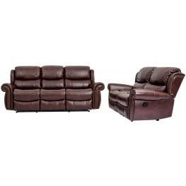 Pompei Brazil Dual Reclining Living Room Set