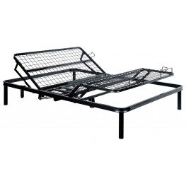Framos III Black Twin XL Adjustable Bed Frame