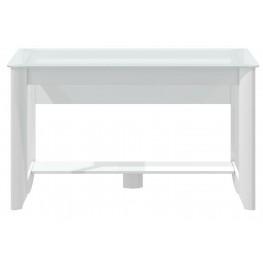 Aero White Writing Desk