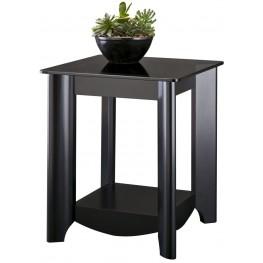 Buena Vista Classic Black End Table Set of 2