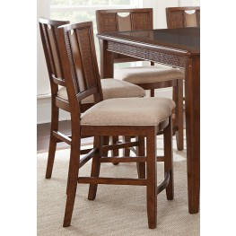 Melody Oak Counter Chair Set of 2