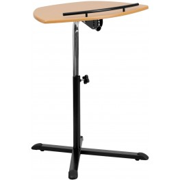 Natural Laptop Computer Desk Adjustable Height (Min Order Qty Required)