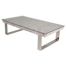 Taj Native White Wash Coffee Table