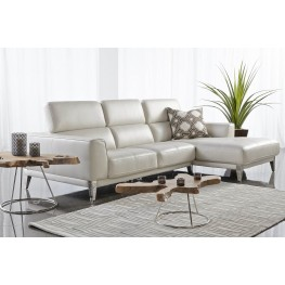 Peninsula Snow Leather Nico RAF Sectional