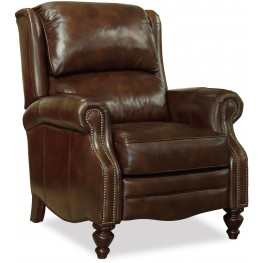 Clark Brown Legacy Leather Recliner
