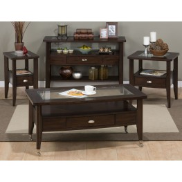 Montego Merlot Occasional Table Set