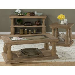 Big Sur Driftwood Brown Occasional Table Set