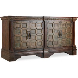 "Dark Wood Entertainment 76"" Console"