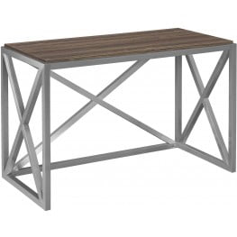 Bell'O Soft Brown Montevallo Desk