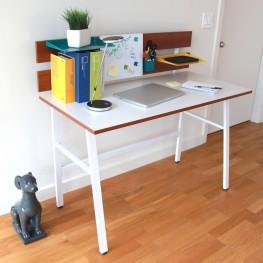 White Home Office Set