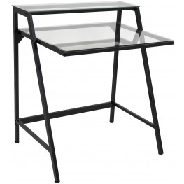 OFDTM2TIER CL Black 2 Tier Desk