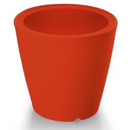 Omnia Multipurpose Red Polyethyline Frame Pot/Vase/Seat/Table