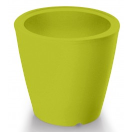 Omnia Multipurpose Green Polyethyline Frame Pot/Vase/Seat/Table