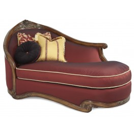 Oppulente Wood trim LAF chaise