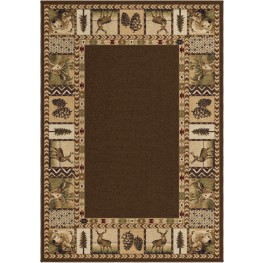"Oxford High Country Sienna Large 130"" Rug"