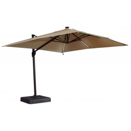 Oakengrove Linen Large Cantilever Outdoor Umbrella