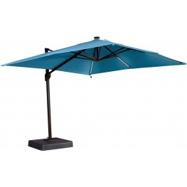 Oakengrove Blue Large Cantilever Outdoor Umbrella