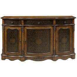 3 Drawer Accents Credenza
