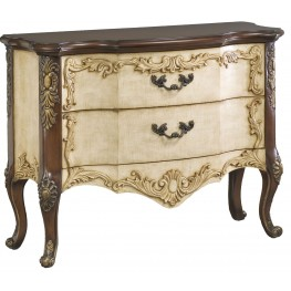 Antique Maren 2 Drawer Accent Chest
