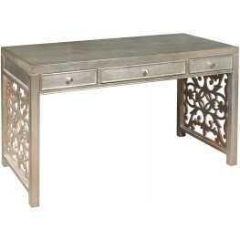 Silver and Gold Desk
