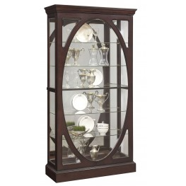 Sable Brown Glass Curio
