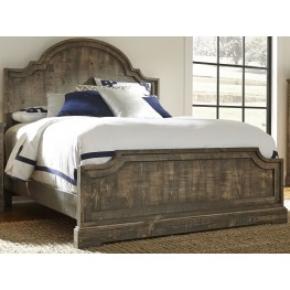 Meadow Weathered Gray Queen Panel Bed