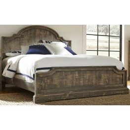 Meadow Weathered Gray Panel Bedroom Set