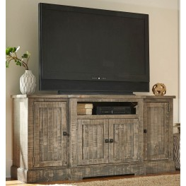 "Meadow Weathered Gray 72"" Console"