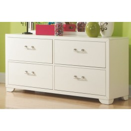 Smart Solutions White Double Dresser