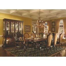 Palace Gates Royal Sable Rectangular Trestle Dining Room Set