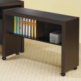 Skylar Cappuccino Desk Return