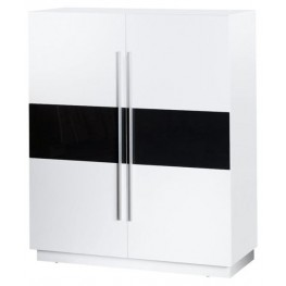 Picaso White High Gloss Cabinet