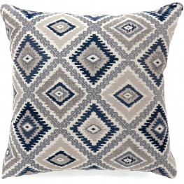 "Deamund Blue 22"" Pillow Set of 2"