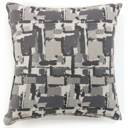 "Concrit Gray 22"" Pillow Set of 2"