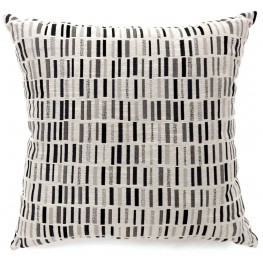 "Pianno Black 22"" Pillow Set of 2"