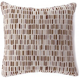 "Pianno Brown 22"" Pillow Set of 2"