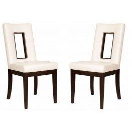 Basix Portico Off White Dining Chair Set of 2