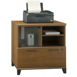 Achieve Warm Oak Lateral File/Printer Stand